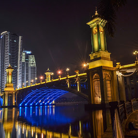 by Rusydi Ali - Buildings & Architecture Bridges & Suspended Structures ( night, lights )