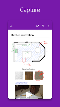 OneNote APK screenshot thumbnail 1