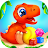 Dinosaur games for kids and toddlers 2 4 years old Icône
