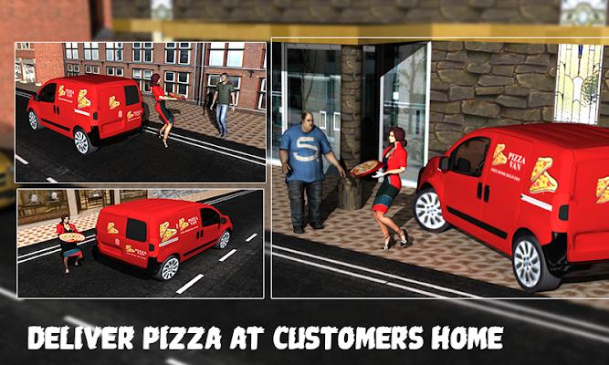 Pizza Delivery Girl Restaurant - screenshot