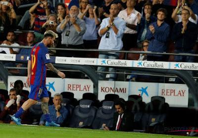 """Luis Enrique: """"Messi ne semble pas récupérer de ses douleurs"""""""