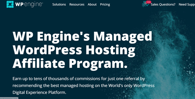 WP Engine affiliate marketing program