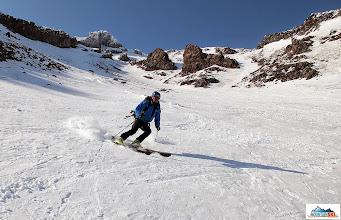 Photo: Skier: Pazout, location: volcano Koryaksky, Kamchatka-peninsula