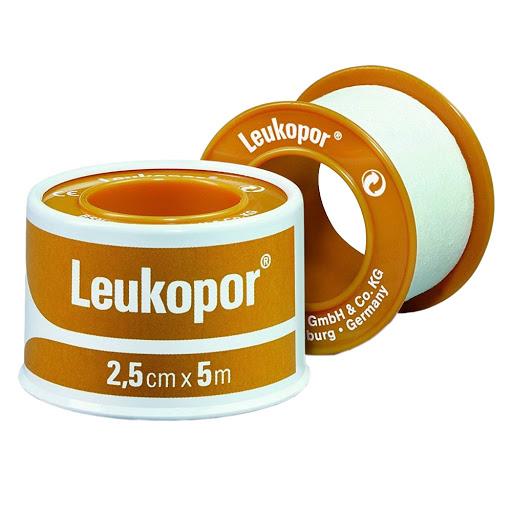 Adhesivo Leukopor Blanco 5cm/9,2m
