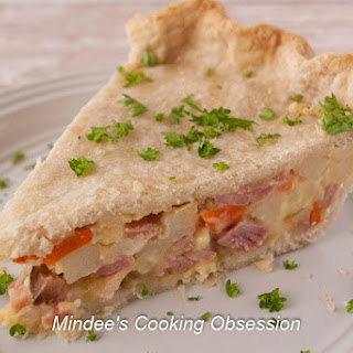 Leftover Ham and Cheese Pot Pie Recipe