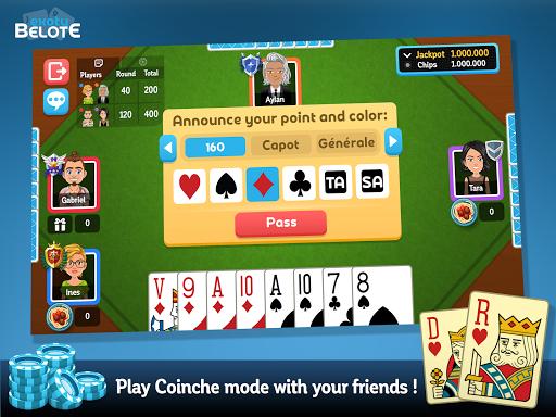 Multiplayer Belote & Coinche 6.5.0 screenshots 14