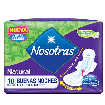 Toallas Intimas Nosotras Buenas Noches x10Und