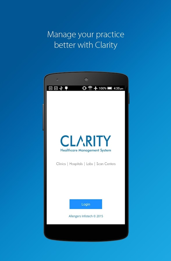 Clarity- screenshot
