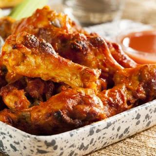 Homemade Hot Sauce Chicken Wings.