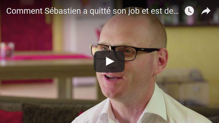 Comment Sébastien a quitté son job et est devenu blogueur pro en un an