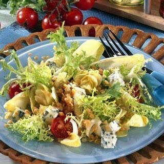Frisée-Salat mit Linsen-Vinaigrette