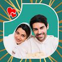 Muslim Wedding Couple Photo Suit icon
