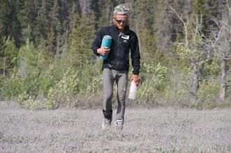 Photo: Tomek at Hubbards Landing.