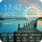Tải Animated Weather Widget & Clock APK
