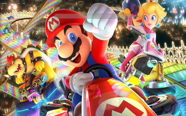Mario Kart Tour Wallpapers New Tab