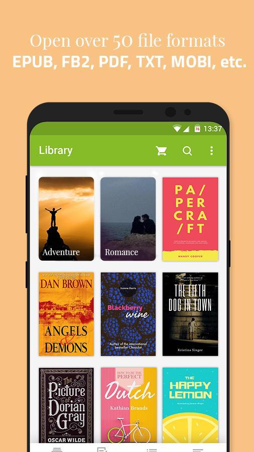 Universal Book Reader Screenshot 1