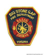 Photo: Big Stone Gap Fire