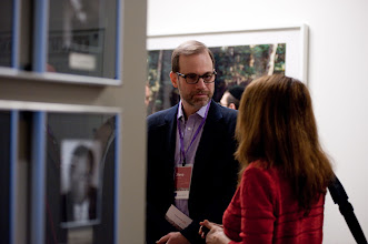 Photo: Stephen J. Adler chats with a participant during the RAND Politics Aside event. The RAND Corporation's signature fundraising event was Nov. 15-17, 2012 at the RAND headquarters campus in Santa Monica.