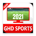GHD all in one sports live HD IPL Cricket icon