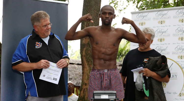 Sikho Nqothole is determined to win against Tanzanian' Sunday Kiwale' for the vacant WBA Pan African junior-bantamweight title at the Sibaya casino on the KwaZulu-Natal north coast Wednesday June 28 2018.