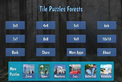 Tile Puzzles · Forests- screenshot thumbnail