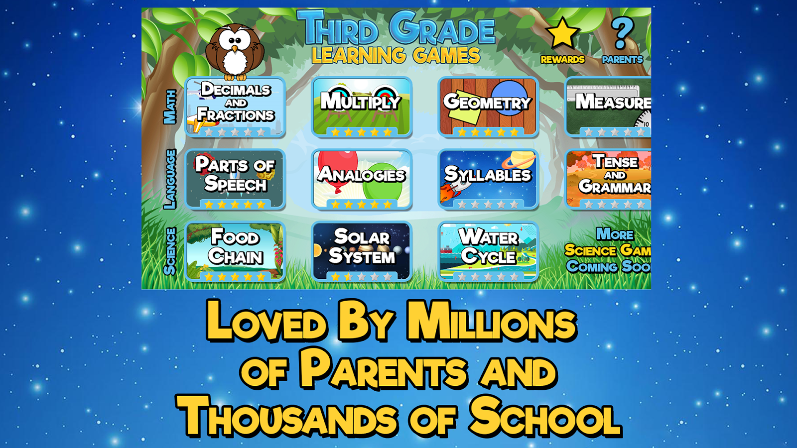 Third Grade Learning Games - Android Apps on Google Play