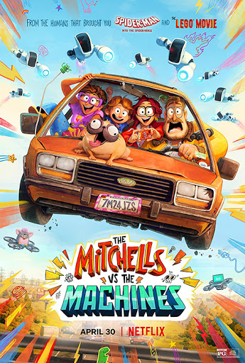 """Houston: Win Free Passes To A Virtual Screening Of """"The Mitchells vs. The Machines"""""""
