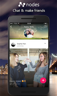 Nodes: Chat & Meet New Friends, Online Chat Groups - náhled