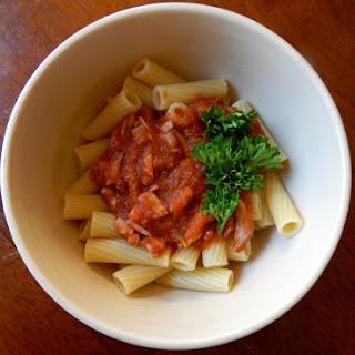 Pasta with Braised Pork Ragu