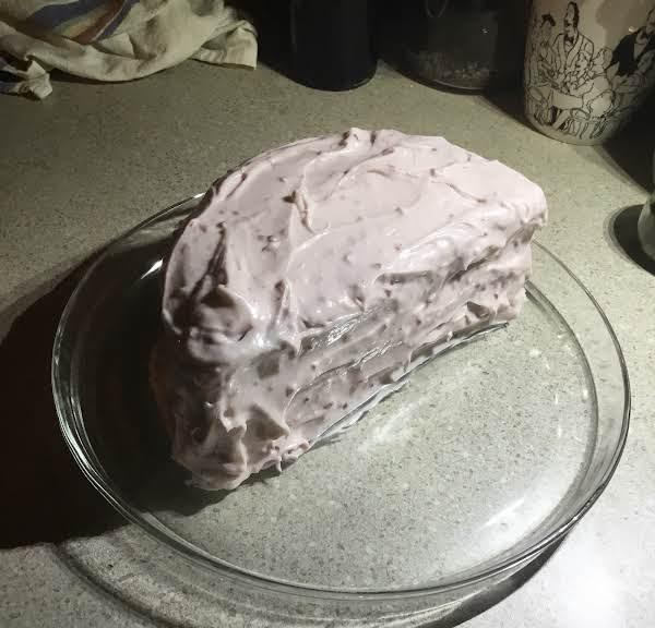 Chocolate Raspberry Half Cake