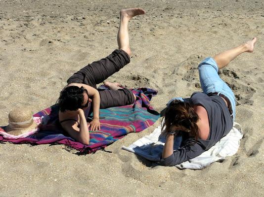 Esercizi @ the beach di BlueBetty