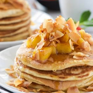 Pineapple Coconut Pancakes Recipes