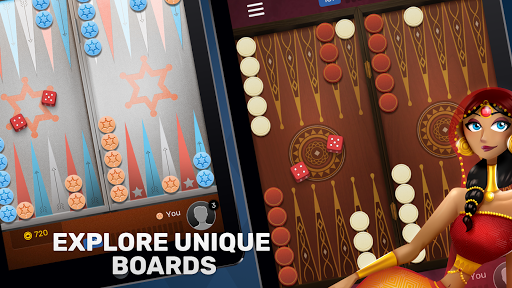 Free Backgammon Go: Best online dice & board games 2.9.1 gameplay | by HackJr.Pw 16
