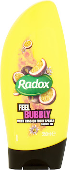 Radox Feel Bubbly Shower Gel - with Passion Fruit Splash, 250ml