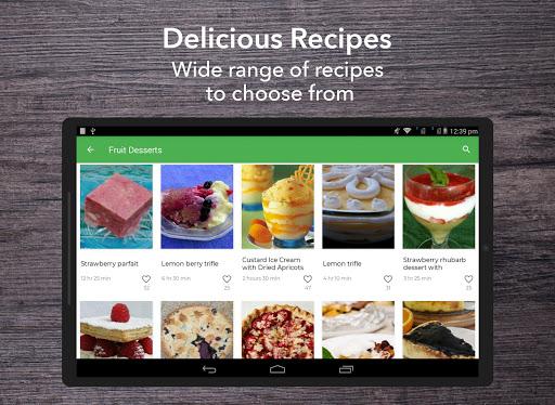 Dessert Recipes 38.0.0 screenshots 7