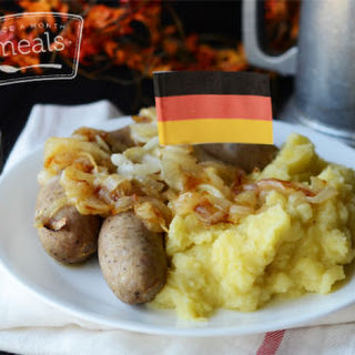 Heaven and Earth with Bratwurst.