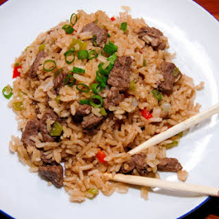 Easy Chinese Beef And Rice.