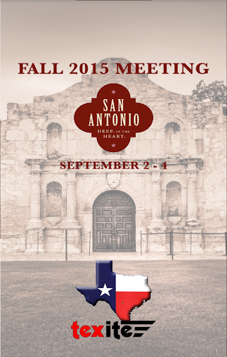 TexITE 2015 Fall Meeting