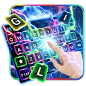Color Flash Lightning Keyboard Theme icon