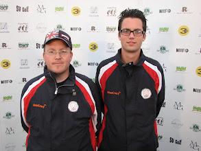 Photo: Coaches Great Britain. Björn Dinau and Eirik Seljelid. Photo: Bengt Svensson