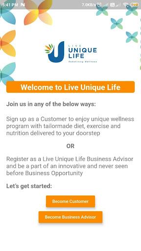 LiveUniqueLife screenshot 2