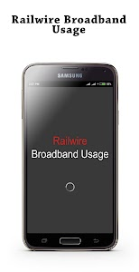 Railwire Broadband Usage screenshot 0