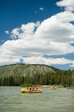 Photo: Rafting down the Snake River in Grand Teton National Park, WY.