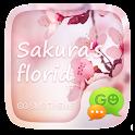 GO SMS PRO SAKURA FLORID THEME icon