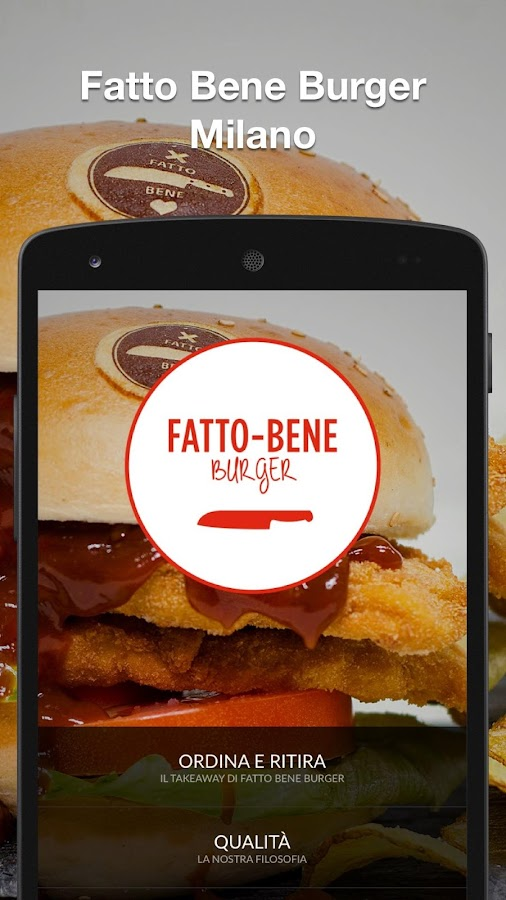 Fatto Bene Burger- screenshot