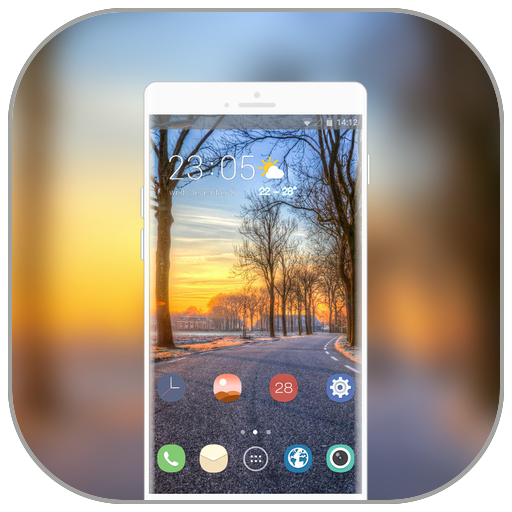 App Insights: Theme for LG G7 road hope distance wallpaper | Apptopia