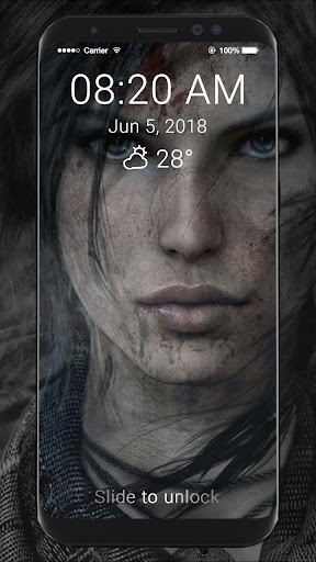 Tomb Raider HD Wallpapers Lock Screen 1.0 screenshots 5