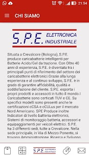 SPE Elettronica Industriale- miniatura screenshot