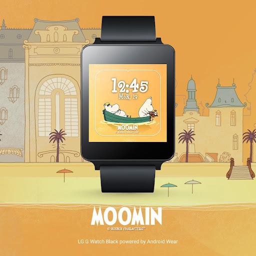 Moomins Watch Face
