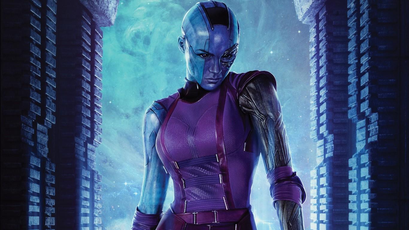 Nebula- Gamora's sister - Upcoming Guardians of The Galaxy Vol.3